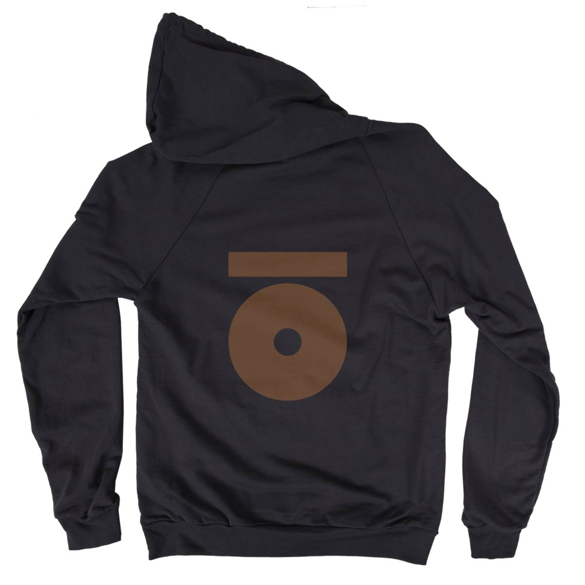 black-hoodie-bronze-logo-back